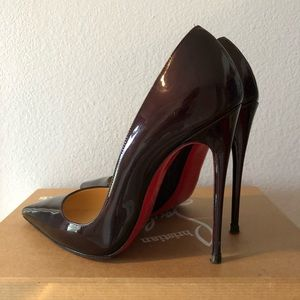 nouvelle collection 83c8f 4cc32 Christian Louboutin So Kate in Rouge Noir